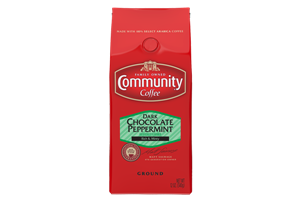 12 oz. Ground Dark Chocolate Peppermint