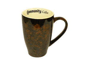 20 oz. Marble Brown Mug