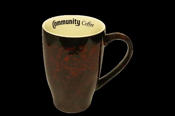 20 oz. Marble Red Mug