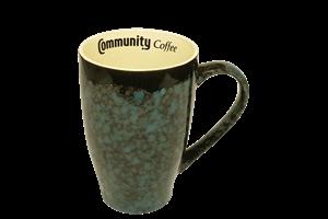 20 oz. Marble Turquoise Mug