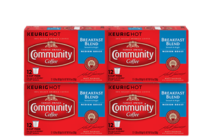 Breakfast Blend K-Cup Pods 48 count