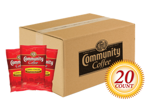 Coffee and Chicory Pre Measured Packs 3.0 oz. 20 Count