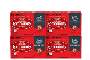 Signature Blend Dark Roast K-Cup Pods 48 count