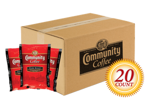 Dark Roast Pre Measured Packs 3.0 oz. 20 Count