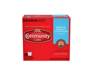 French Vanilla K-Cup Pods 18 count