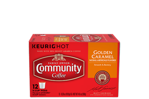 Golden Caramel K-Cup Pods 12 count