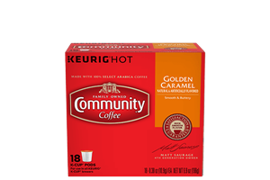 Golden Caramel K-Cup Pods 18 count