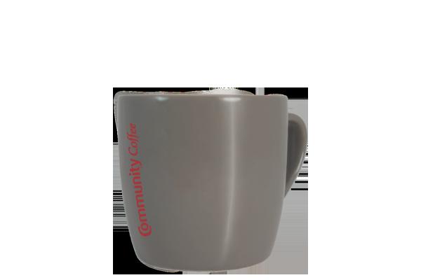 Gray Ceramic Mug