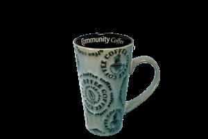 Latte Mug Blue