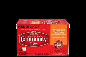 Pumpkin Praline Coffee Pods 12 count