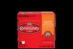 Pumpkin Praline Coffee Pods 18 count