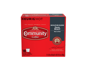 Signature Blend Dark Roast K-Cup Pods 18 count