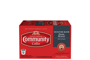 Signature Blend Dark Roast Coffee Pods 12 count