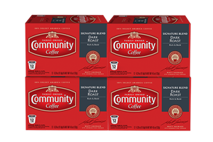 Signature Blend Dark Roast Coffee Pods 48 count