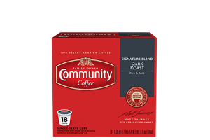 Signature Blend Dark Roast Coffee Pods 18 count