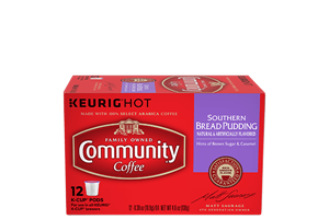 Southern Bread Pudding K-Cup Pods 12 count