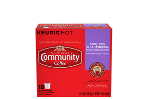 Southern Bread Pudding K-Cup Pods 18 count