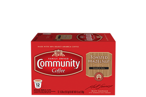 Toasted Hazelnut Coffee Pods 12 count