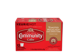 Toasted Hazelnut K-Cup Pods 12 count