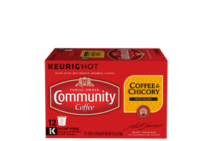 Coffee and Chicory K-Cup Pods 12 count