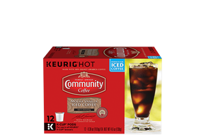 Mocha Vanilla Iced Coffee K-Cup Pods 12 count