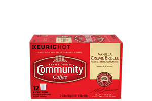 Vanilla Creme Brulee K-Cup® Pods 12 count