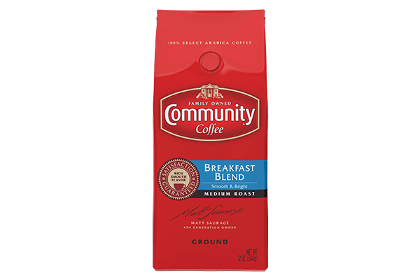 12 oz. Ground Breakfast Blend Coffee