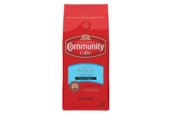 12 oz. Ground French Vanilla Coffee