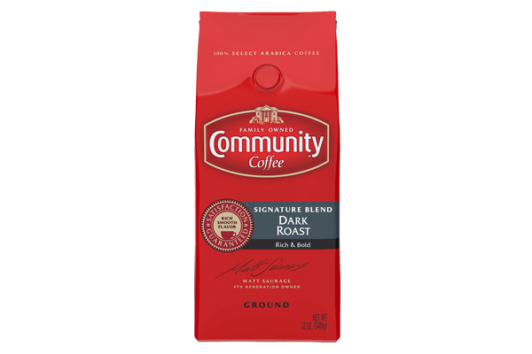 12 oz. Ground Signature Blend Dark Roast Coffee