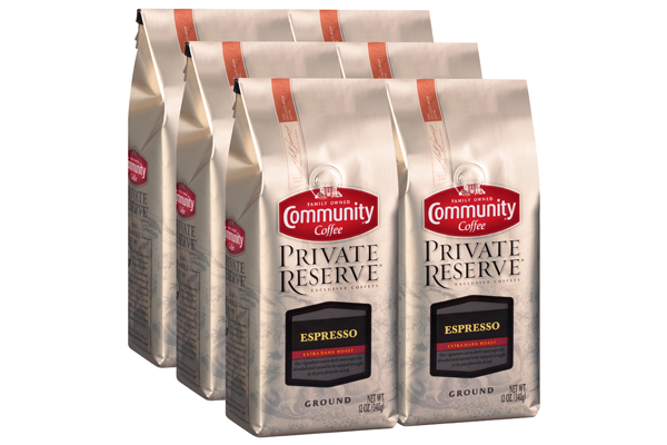 12 oz. Ground Private Reserve Espresso (Pack of 6)