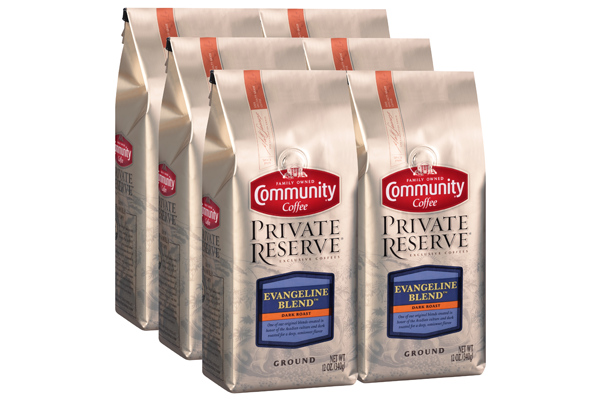 12 oz. Ground Private Reserve Evangeline Blend Coffee (Pack of 6)