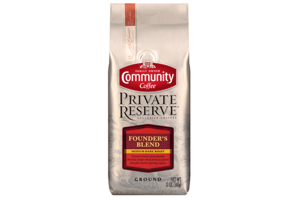 12 oz. Ground Founder's Blend Coffee