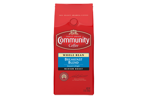 12 oz. Whole Bean Breakfast Blend Coffee