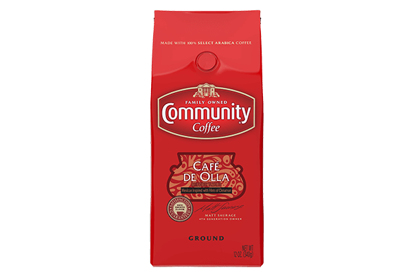 12 oz. Ground Cafe de Olla Coffee