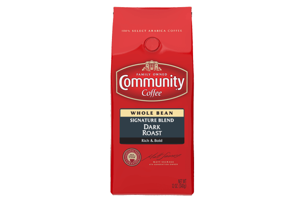 12 oz. Whole Bean Signature Blend Dark Roast Coffee
