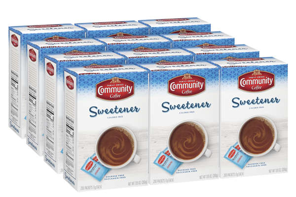 Blue Sweetener 200 Packets (Pack of 12 boxes)