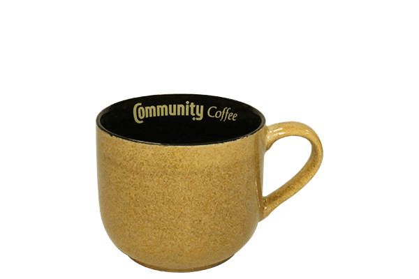 16 oz. Reactive Rustic Yellow Mug