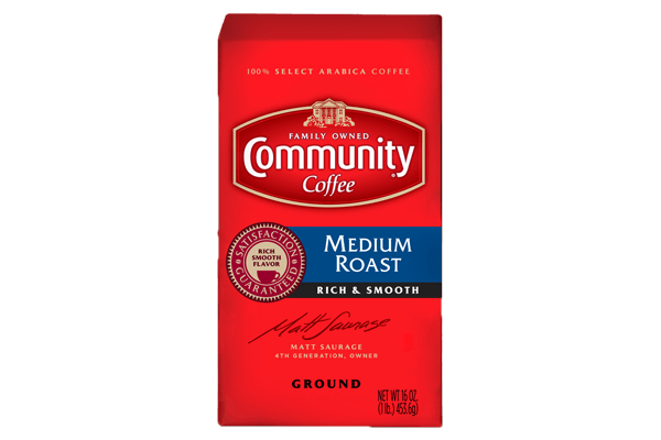 16 oz. Ground Medium Roast Coffee