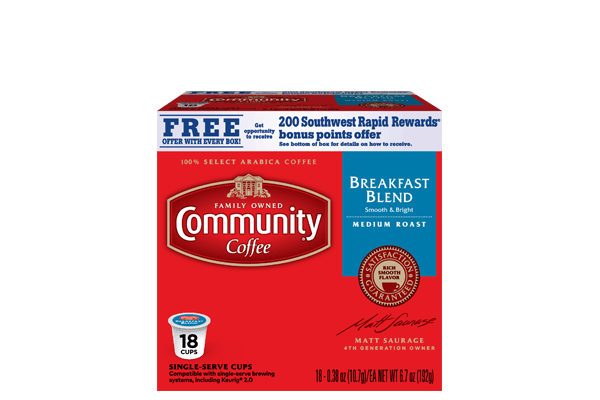 Breakfast Blend Coffee Pods 18 count