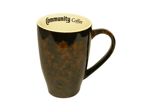 20 oz. Marble Brown Mug