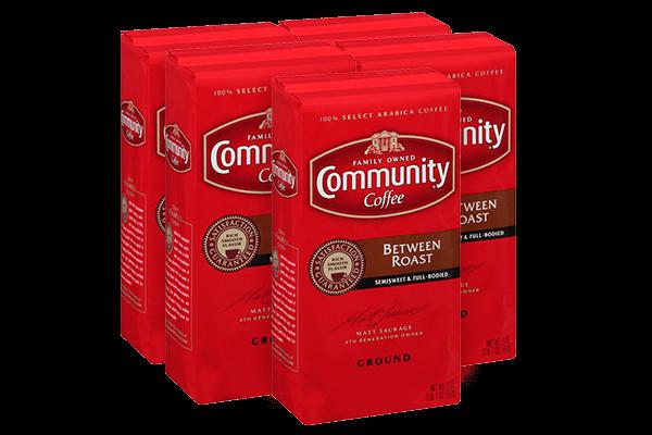 23 oz. Ground Between Roast Coffee (Pack of 5)