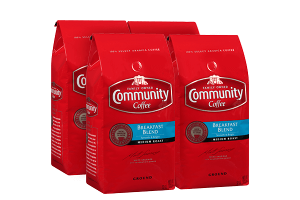 32 oz. Ground Breakfast Blend Coffee (Pack of 4)