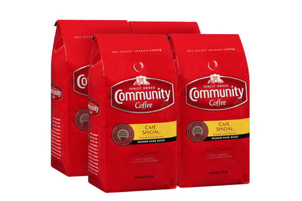 32 oz. Ground Café Special Coffee (Pack of 4)