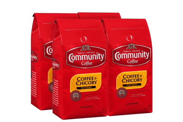 32 oz. Ground Coffee and Chicory (Pack of 4)