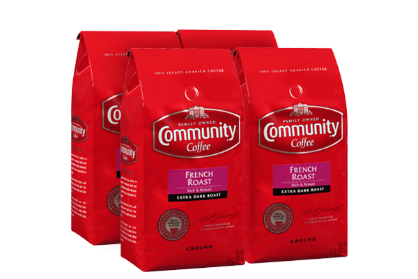32 oz. Ground French Roast Coffee (Pack of 4)