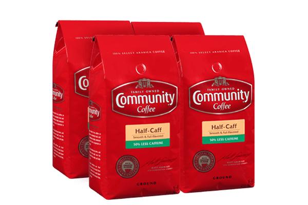 32 oz. Ground Half-Caff Coffee (Pack of 4)