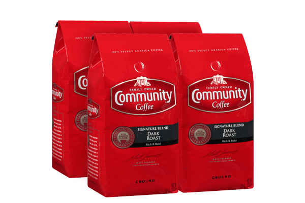 32 oz. Ground Signature Blend Dark Roast Coffee (Pack of 4)