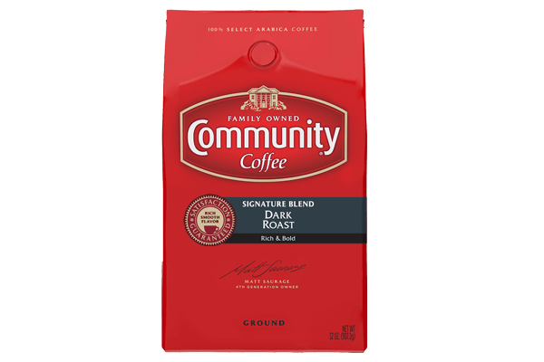 32 oz. Ground Signature Blend Dark Roast Coffee