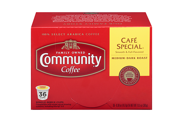 Cafe Special Coffee Pods 36 count