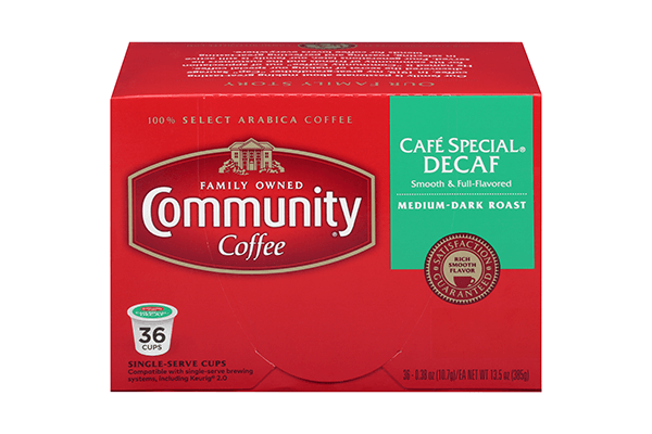 Cafe Special Decaf Coffee Pods 36 count